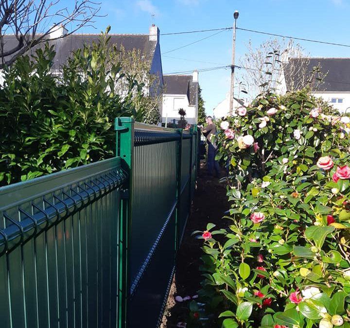 Les clôtures occultantes sont des alternatives in…
