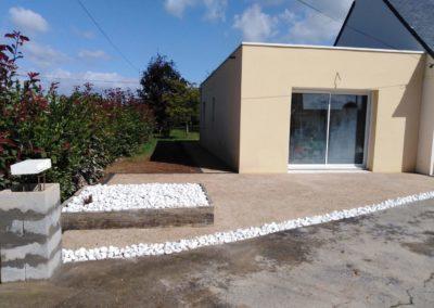 beton desactive - Aménagements paysagers