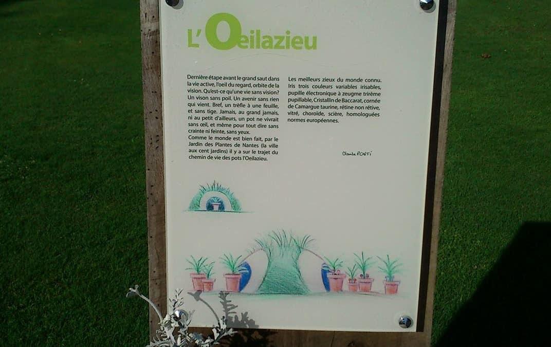 Nos pas nous ont dirigés vers le jardin des plante…