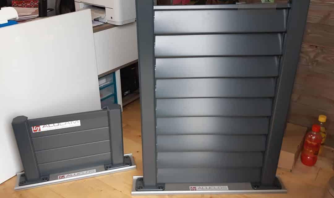 Arrivage des nouveaux panneaux aluminium moulés